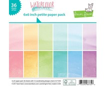 Lawn Fawn Watercolor Wishes 6x6 Inch Paper Pad (LF1355)