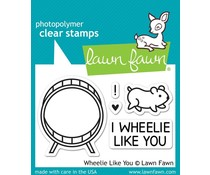 Lawn Fawn Wheelie Like You (LF838)