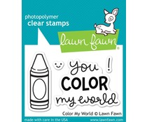 Lawn Fawn Color My World (LF793)