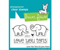 Lawn Fawn Love You Tons (LF598)