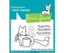 Lawn Fawn Winter Fox (LF363)