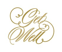Couture Creations Anna Griffin Foil Stamp Die Get Well (CO725291)