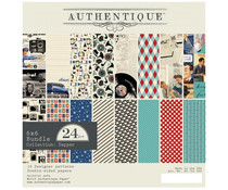 Authentique 6x6 Paper Pad Dapper (DAP011)