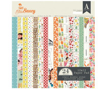 Authentique 12x12 Paper Pad Saucy (SAU013)