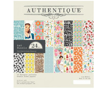 Authentique 6x6 Paper Pad Saucy (SAU011)