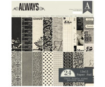 Authentique 12x12 Paper Pad Always (ALW012)