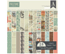 Authentique 12x12 Paper Pad Pastime (PAS016)