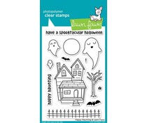 Lawn Fawn Happy Haunting Clear Stamps (LF357)