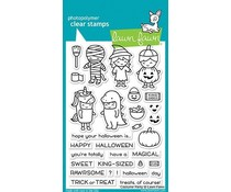 Lawn Fawn Costume Party Clear Stamps (LF1458)