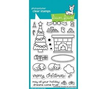 Lawn Fawn Christmas Dreams Clear Stamps (LF1466)