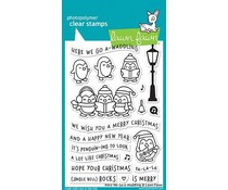 Lawn Fawn Here We Go A-Waddling Clear Stamps (LF1468)