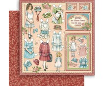 Graphic 45 Sweet Sister 12x12 Inch Paper Pack (4501581)