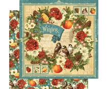 Graphic 45 Winter 12x12 Inch Paper Pack (4501615)