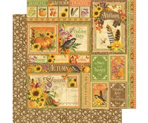 Graphic 45 Autumn Collective 12x12 Inch Paper Pack (4501622)