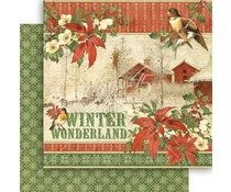 Graphic 45 Winter Wonderland 12x12 Inch Paper Pack (4501597)