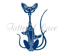 Tattered Lace Siamese Cats (TLD0444)