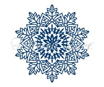 Tattered Lace Snowflakes are One of a Kind (TLD0538)