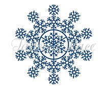 Tattered Lace Snowflakes Glistening (TLD0539)