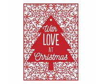 First Edition Christmas Craft a Card Die - With Love (FEDIE204X17)