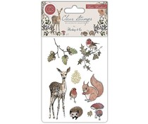 Craft Consortium Winter Woodland Clear Stamps (CCSTMP003)