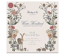Craft Consortium Winter Woodland Paper Pad 12x12 Inch (CCPPAD006)