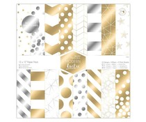 Papermania 12x12 Inch Paper Pack Modern Lustre (36pk) (PMA 160508)