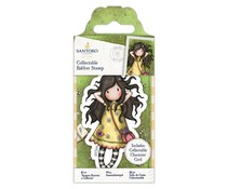Gorjuss Collectable Mini Rubber Stamp No. 43 Spring At Last (GOR 907142)