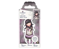 Gorjuss Collectable Mini Rubber Stamp No. 50 Jar of Hearts (GOR 907149)