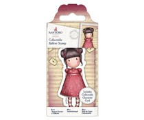 Gorjuss Collectable Mini Rubber Stamp No. 54 Sweetheart (GOR 907153)
