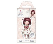 Gorjuss Collectable Mini Rubber Stamp No. 57 Little Heart (GOR 907156)