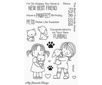 My Favorite Things New Best Friend Clear Stamps (BB-52)
