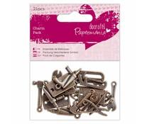 Papermania Charm Pack Tools (21pcs) (PMA 356013)