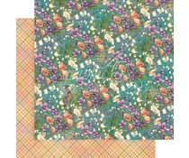 Graphic 45 Moonlit Blooms 12x12 Inch Paper Pack (4501633)