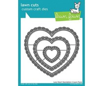 Lawn Fawn Lacy Heart Stackables (LF1562)