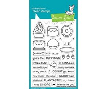 Lawn Fawn Sweet Friends Clear Stamps (LF1551)