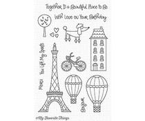 My Favorite Things In Paris Clear Stamps (CS-265)