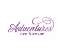 Couture Creations Everyday Sentiments Hotfoil Stamp Adventures (CO725829)