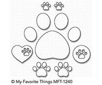 My Favorite Things Paw Prints Die-Namics (MFT-1240)
