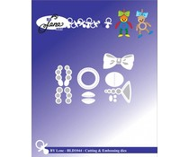 By Lene Baby Accessories Cutting & Embossing Die (BLD1044)