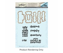 Spellbinders Fancy Stamp & Die Set (SDS-073)