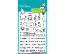 Lawn Fawn Toadally Awesome Clear Stamps (LF1581)