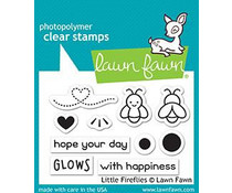 Lawn Fawn Little Fireflies Clear Stamps (LF1593)