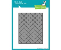 Lawn Fawn Quilted Backdrop Die (LF1625)
