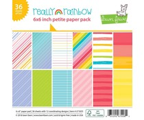 Lawn Fawn Really Rainbow 6x6 Inch Paper Pad (LF1655)