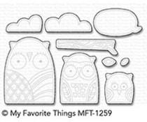 My Favorite Things Owl My Love Die-Namics (MFT-1259)