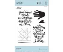 Spellbinders #handmade (SBS-161)
