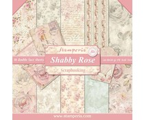 Stamperia Shabby Rose 12x12 Inch Paper Pack (SBBL12)