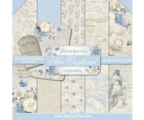 Stamperia New England 12x12 Inch Paper Pack (SBBL13)