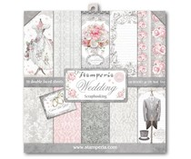 Stamperia Wedding 12x12 Inch Paper Pack (SBBL18)