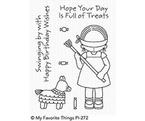 My Favorite Things Pure Innocence Birthday Piñata Clear Stamps (PI-272)